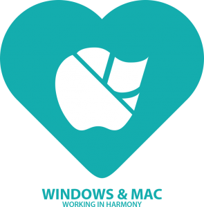 Windows and Mac Support logo