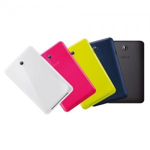 Asus Memo Pad HD7 Tablet - colours