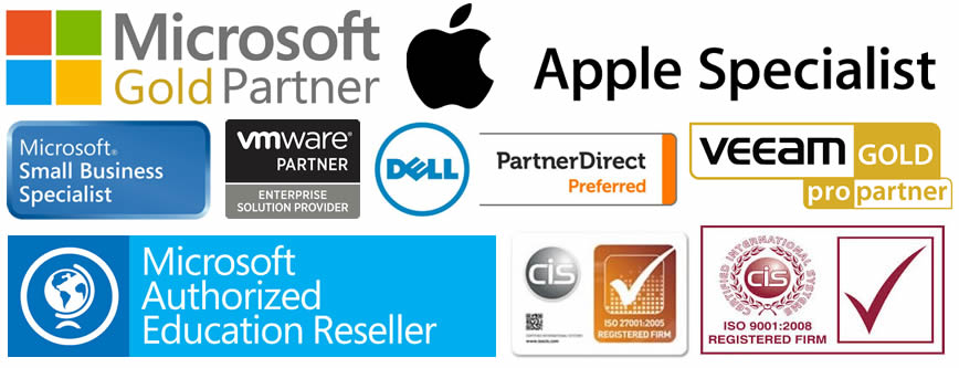 2017 Bedford IT Support accreditations