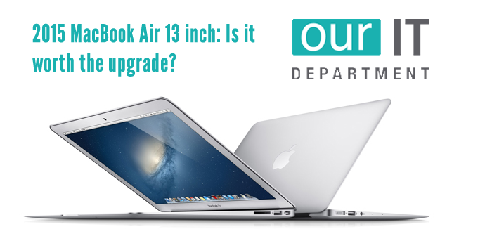 MacBook Air 13 inch 2015 review