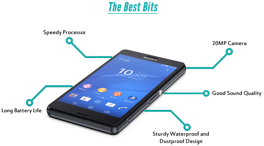 Sony Xperia Z3 Compact the best bits.fw