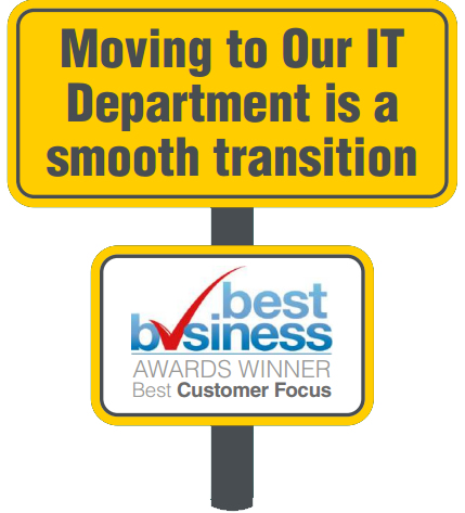 Smooth transition of service