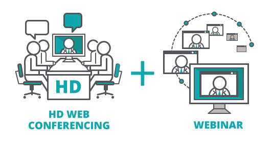 HD webinar and web conferencing services