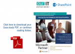 microsoft sharepoint case study construction Microsoft sharepoint case studies rsm implements sharepoint to connect systems across the business and increase collaboration and improve document management netsuite case studies.